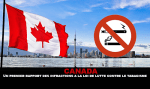 CANADA: A first report of the offenses against the law to fight against smoking.