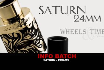 INFO BATCH : Dripper Saturn (Pro-Ms)