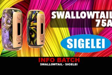 INFO BATCH : Swallowtail 75A (Sigelei)
