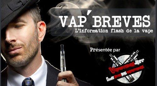 VAP'BREVES : L'actualité du Lundi 9 Janvier 2017.