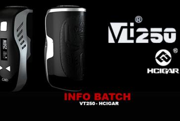 BATCH INFO: Hcigar VT250 (Hcigar)