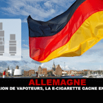 גרמניה: עם מיליון vapers, את הסיגריה האלקטרוני הוא צובר פופולריות.