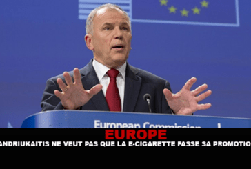 EUROPE: EU Commissioner Andriukaitis does not want the e-cigarette to be promoted.