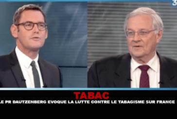 TABACCO: il professor Dautzenberg discute la lotta contro il fumo sulla Francia 3