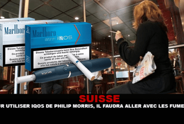 SWITZERLAND: To use Philip Morris' lQOS, it will be necessary to go with the smokers.