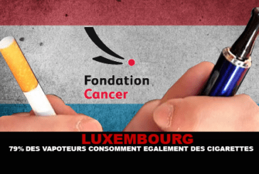 LUXEMBOURG: 79% of vapers also consume cigarettes.
