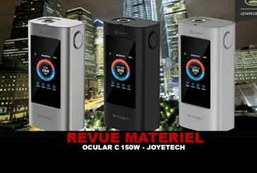 REVUE : OCULAR C 150W PAR JOYETECH