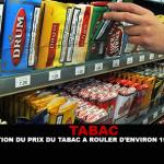 ТАБАК: Рост цены прокатного табака примерно на 15% в этот понедельник.