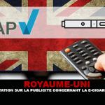 בריטניה: תקנות הפרסום עבור סיגריה אלקטרונית חשפה.