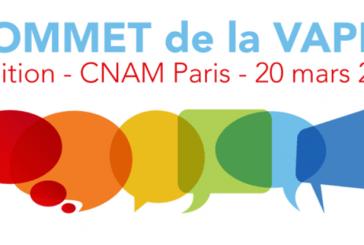 Sommet de la vape 2éme édition (CNAM Paris – France)