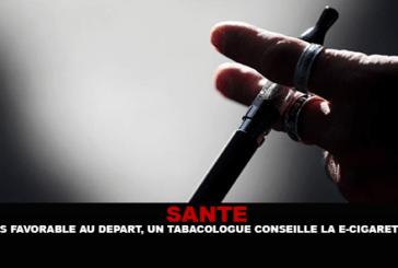 SANTÉ : Pas favorable au départ, un tabacologue conseille la cigarette électronique.