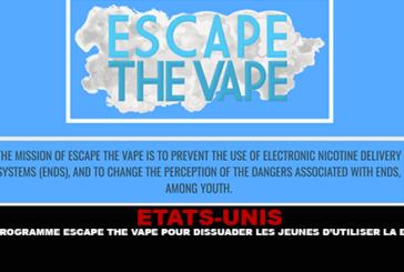 """ארה""""ב: הבריחה תוכנית Vape להרתיע אנשים צעירים באמצעות סיגריות אלקטרוניות"""