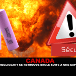 קנדה: ורפר רשלני נשרף לאחר פיצוץ של סוללות.