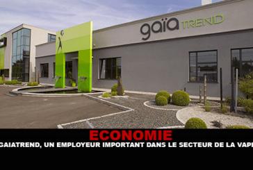 ÉCONOMIE : Gaiatrend, un employeur important dans le secteur de la e-cigarette.