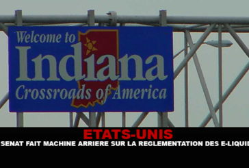 ÉTATS-UNIS : Le sénat fait machine arrière sur la réglementation des e-liquides en Indiana.