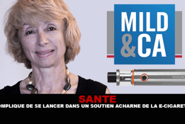 SANTE : «Compliqué de se lancer dans un soutien acharné de la cigarette électronique»