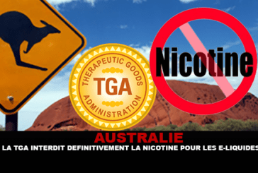 אוסטרליה: TGA בהחלט אוסר ניקוטין עבור e- נוזלים.
