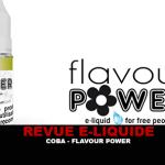 REVUE : COBA (GAMME 50/50) PAR FLAVOUR POWER