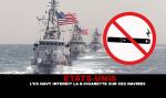ÉTATS-UNIS : L'US Navy interdit la e-cigarette sur ses navires