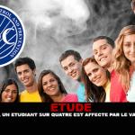 ÉTUDE : Selon le CDC, un étudiant sur quatre est affecté par le vapotage passif.