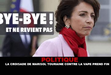 POLITIQUE : La croisade de Marisol Touraine contre la vape prend fin !