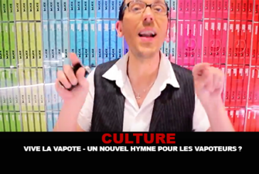 """CULTURE: """"Vive la vapote"""", a new hymn for vapers?"""