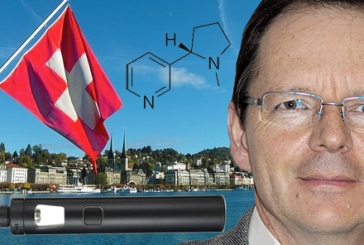 "SWITZERLAND: ""We need to debate the place of nicotine and vaping. """