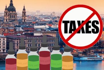 HONGRIE : Abandon du projet d'augmentation des taxes pour les e-liquides.
