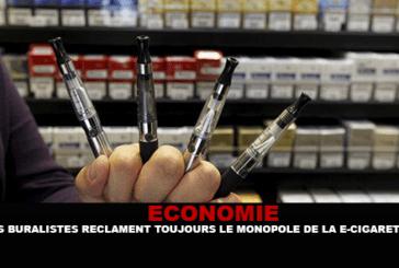 ECONOMIE : Les buralistes réclament toujours le monopole de la e-cigarette.