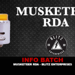 BATCH INFO: Musketeer RDA (Blitz Enterprises)