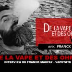 ואפ ואפה: ראיון של פרנק מאופי (Vaposite)