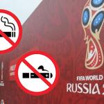 RUSSIE : Interdiction de fumer ou de vapoter pendant les événements de la FIFA.