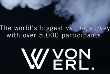 E-CIGARETTE: Von Erl unveils the results of his grand investigation on the vape.