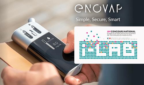 INNOVATION : Enovap devient lauréat du concours I-LAB 2017 !