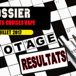 DOSSIER: Solutions of our crosswords of the vape! (July 2017)