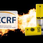 БЕЗОПАСНОСТЬ: DGCCRF призывает пользователей электронных сигарет к бдительности.