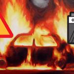 E-CIGARETTE: батарея дегазирована, и автомобиль загорелся в Тулузе.