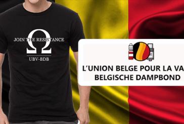BELGIO: UBV-BDB lancia una maglietta per finanziare la difesa dello svapo!