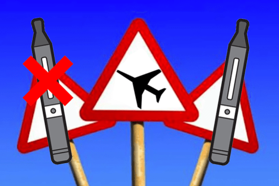 DEBATTE: Ist es gefährlich, mit einer E-Zigarette zu reisen?