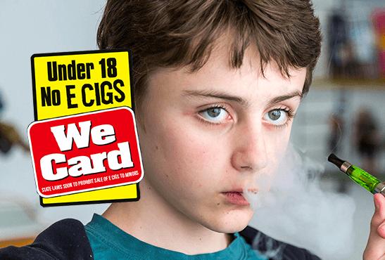REGNO UNITO: una pesante multa per la vendita di e-liquid a un minorenne.