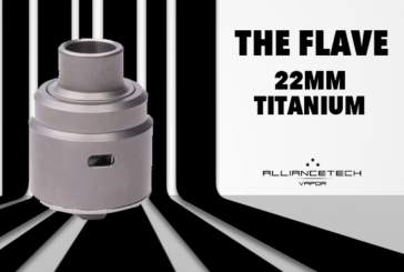 BATCH INFO: האדים 22mm (Aliancetech Vapor)