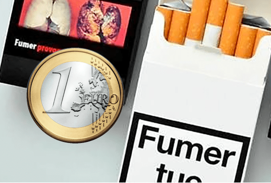 TABAC : Une augmentation du paquet d'un euro dés 2018 !