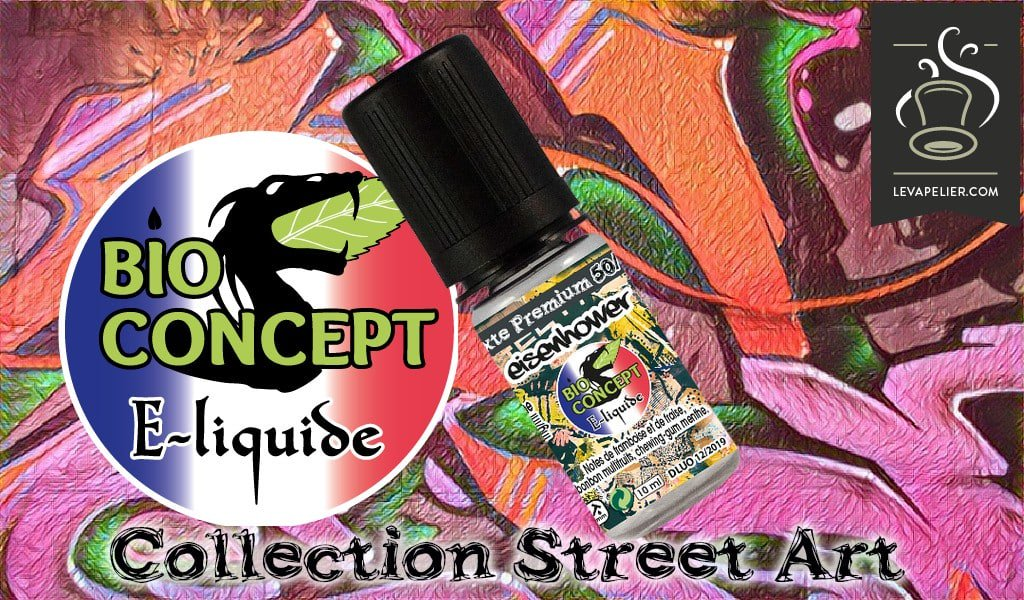 REVUE : Eisenhower (Gamme Street Art) par Bio Concept