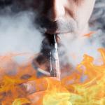 SOCIETE : Brûlé au second degré après l'explosion de sa e-cigarette.