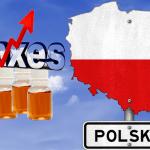 POLONIA: una tassa di 12 centesimi per millilitro di e-liquid in 2018!