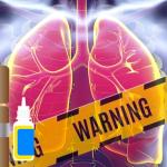 ETUDE : L'e-cigarette pourrait entrainer certaines maladies pulmonaires.