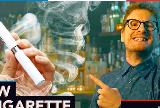 "CULTURE: Paul Taylor makes fun of e-cigarettes and legislation in ""What's up France"""