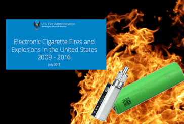 USA: FEMA updates its report on e-cigarette explosions.