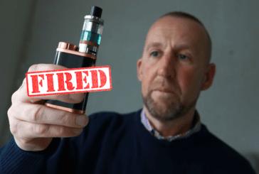 ROYAUME-UNI : Un vétéran de l'ONU licencié pour avoir utilisé une e-cigarette.