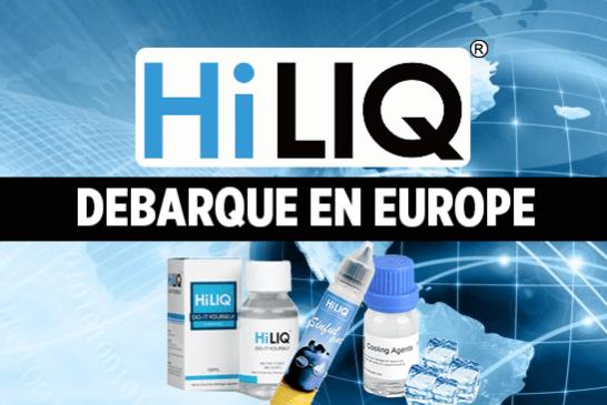 PARLONS E-JUICE : Le géant HiLIQ débarque en Europe.